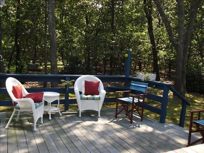 Photo for Cape Cod Great Pond Nature Lover's House Rental in Eastham