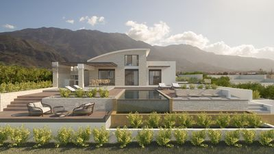 Photo for Brand new luxury villa with amazing seaview