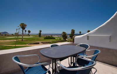 Photo for Pebble Beach, high quality 2 bed apartment in Amarilla Golf with WiFi