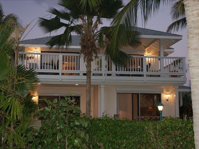 "Photo for Charming Villa ""Les Palmiers"" at St. James's Club Beach Peninsula, Antigua"