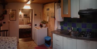 Photo for TWO-ROOM APARTMENT (5 KM FROM THE LAKE MAGGIORE)