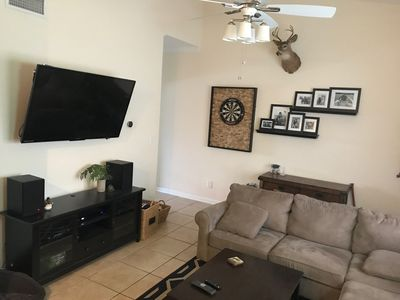 Photo for 2 bedroom/ 2 bathroom blocks from the stadium!