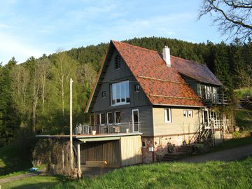 Alpirsbach: Vacation in the nature park with panoramic terrace