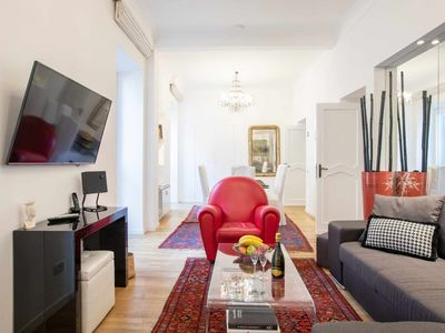 Photo for Cozy Apartment with 2 bedrooms only 100 meters far from Spanish Steps
