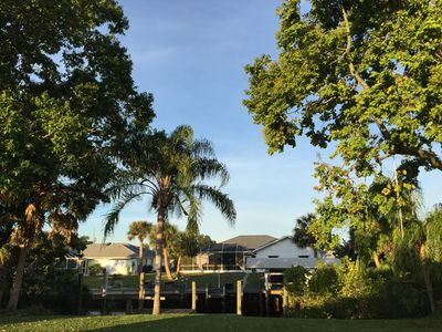 Photo for 3 Bed 2 Bath Dock Vacation Home 10 Minutes To Port Charlotte Harbor.