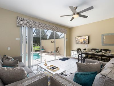 Photo for Upgraded Magical Townhome with Private Screened Splash Pool