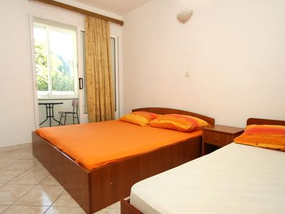 Photo for Studio flat with air-conditioning Podaca, Makarska (AS-4747-c)