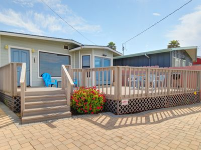 Photo for Cozy oceanview home just moments from the beach, perfect for families!