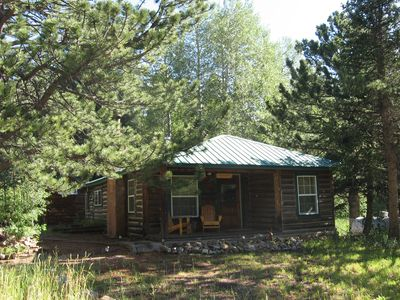 Jack's Cabin minutes from Estes Park and Rocky Mountain National Park