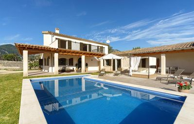 Photo for 3 bedroom Villa, sleeps 6 in Selva with Pool, Air Con and WiFi