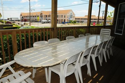 Large Group Outdoor Dining Table