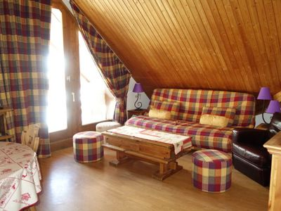 Photo for One bedroom Apartment, sleeps 4 in Le Baplieu with WiFi