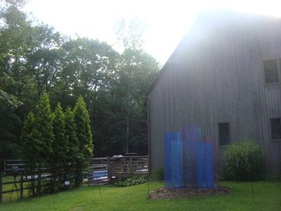 Saltbox Contemporary, private, luxurious, nature , peace, perfect location...