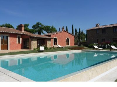 Photo for beautiful holidayhome close to Pienza with private pool