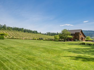 Photo for Great House W/ Spectacular Vineyard Views In The Heart Of Oregon's Wine Country!