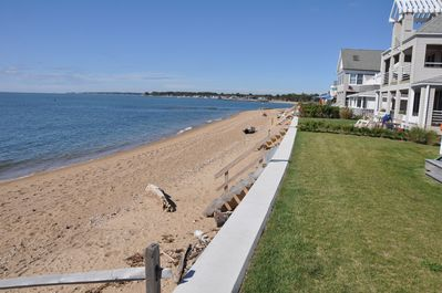 Semi-private sandy beach close to Madison Surf Club