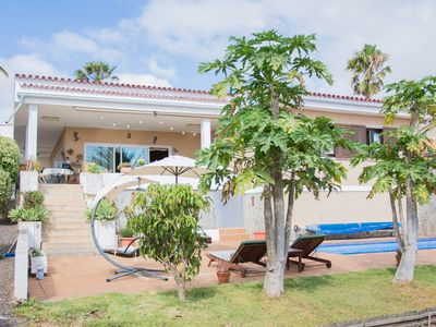 Photo for ★ Charming Villa in La Laguna with Pool & Sauna ★