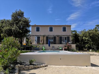 Photo for Bastide in the heart of the Luberon with swimming pool