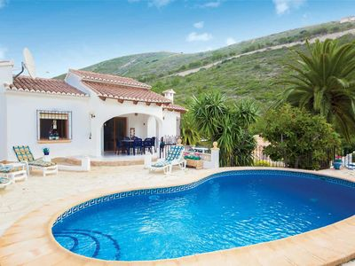 Photo for 3 bedroom Villa, sleeps 6 in Benitachell with Pool, Air Con and WiFi
