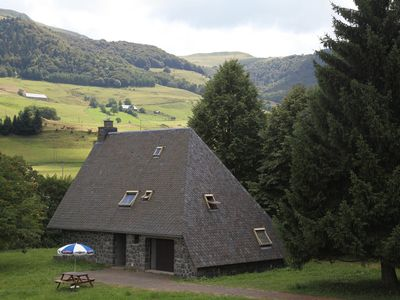 Photo for At the foot of Puy Mary, chain of volcanoes, house of character, approx. very calm