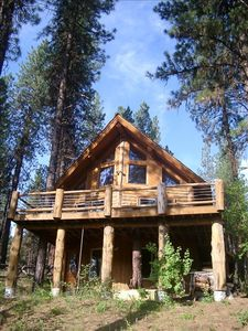 Photo for Log Cabin on the Famous South Fork Payette Whitewater River
