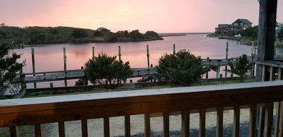 Photo for Renovated Waterfront Condo in Avon with Pool. No extra charge for sunset views!