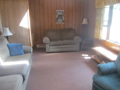 Photo for Lake Front Property,Swimming Fishing,Boating,Snowmobiling,Wi-Fi,Satellite TV