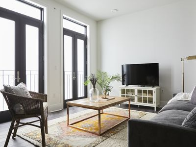 Photo for Architectural 1BR in C.B.D. by Sonder