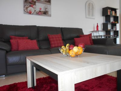 Lounge area with comfortable seating