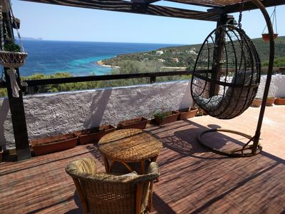 Photo for Apartment in South Sardinia near the beach with an amazing view