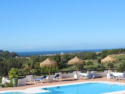Photo for Beautiful seaview apartment with 2 pools