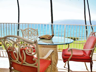 Photo for Rare Ocean Front 1 Bdrm w/ AC! - Starting @ $289.00/night - Royal Mauian #209
