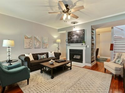 """Photo for Rest Well with Southern Belle Vacation Rentals at """"Historic Townhouse"""""""