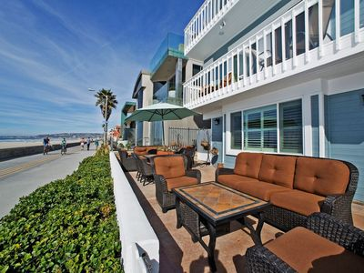 Ocean Front Paradise!! Mission Beach, BEACH FRONT