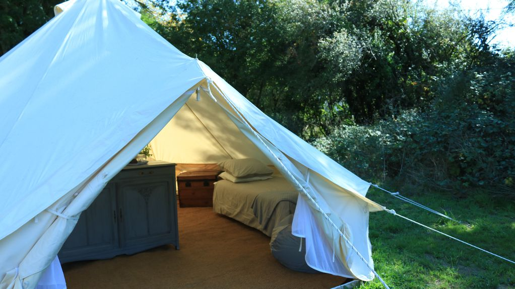 Property Image#5 Luxury Bell Tent Gl&ing in the heart of rural France & Luxury Bell Tent Glamping in the heart of rural France Auzances ...