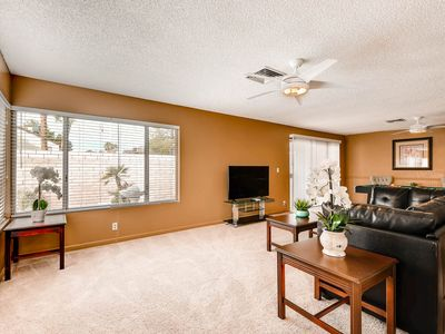 Photo for Cozy One-Story Townhouse w/ Pool Close to the Strip