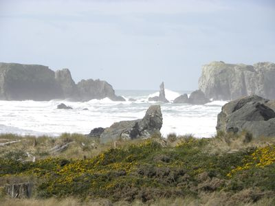 Photo for Dunes House at Bandon - Million Dollar Views right at the beach!!