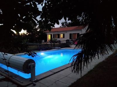 Photo for Beautiful Villa with heated pool - just 10 minutes from the sea!