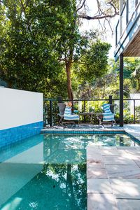 Photo for THE TREEHOUSE - pool, pets, sleeps 8 guests on Duke Street!