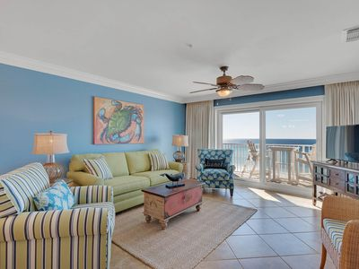 Photo for Ultimate Beachfront ~ Smoke-Free Resort~2 King Mstr+Queen+Twin~Heated Pool