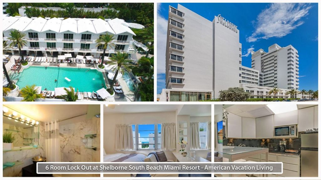 6 Room-Beachfront w/Pool & Jacuzzi, Walk to Shops, Bars, Lounges +Golf & Tennis