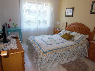 Photo for 2 bedrooms apart., private patio, car parking, summer swimming pool, near beach