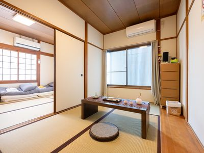 Photo for ☆ 2 minutes walk from the station Namba direct 8 minutes Umeda 16 minutes ☆ 2LDK 3-story Japanese style guest house