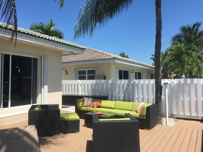 Photo for EARLY SUMMER SPECIAL $1750 WEEK! CABANA CLUB! UPSCALE WATERFRONT HOME CHILLAX