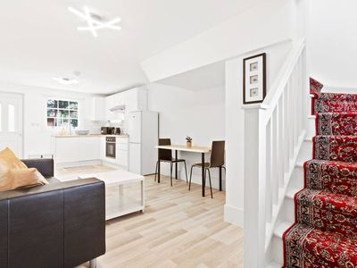 Photo for Airy, Spacious 1-Bed apt with Garden in Brixton