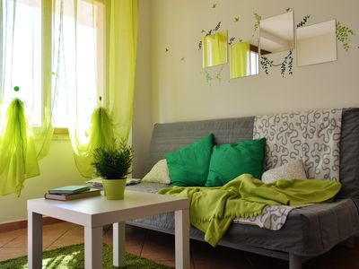 Photo for Cala Gonone - Attractive apartment with garden