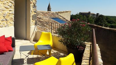Photo for Beautiful village house 10 mins from Uzès