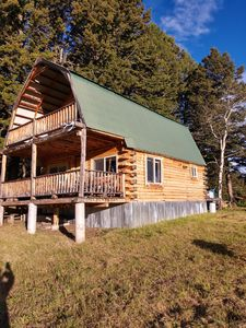 Photo for 64 Livingston Peak Rustic Remote Cabin