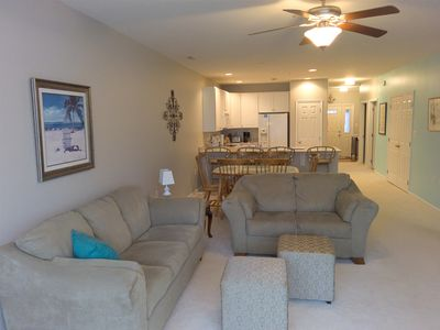 Photo for Elegant and cozy beach condo for your family vacation or winter rental