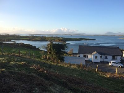 Photo for Wild Atlantic Way - Detached Cottage with  Stunning Sea Views of Clew Bay